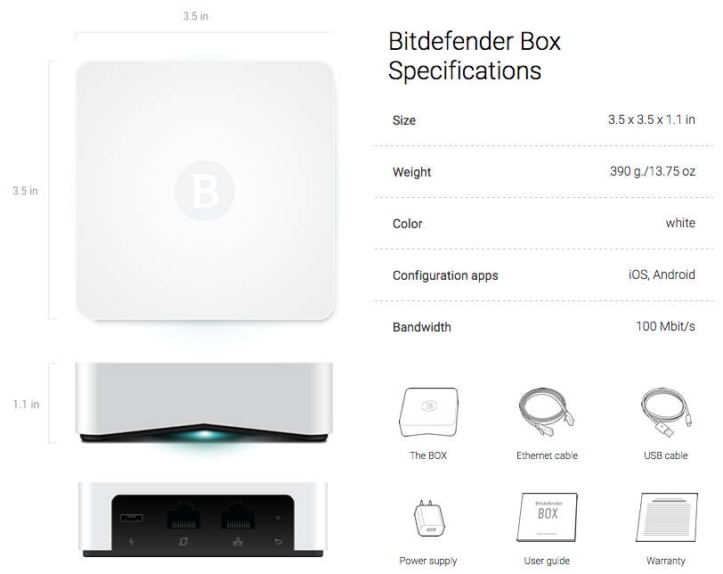 Bitdefender BOX version 1